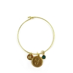 Moon and Lola Dalton Birthstone Bangle