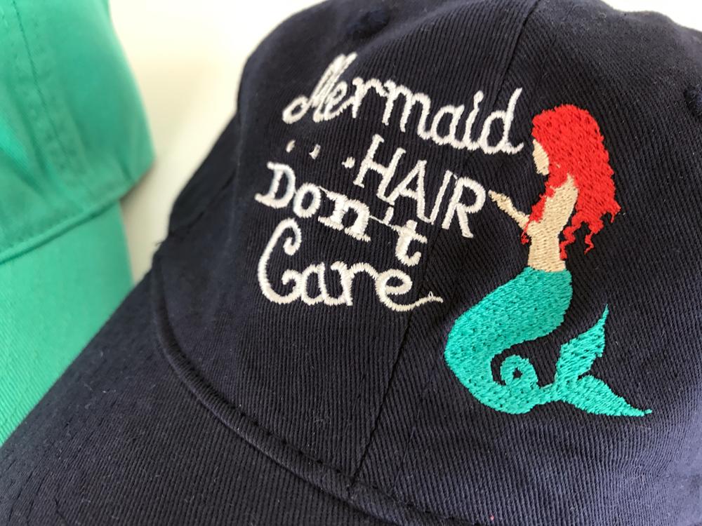 Mermaid Hair Don t Care Hat  f61333635b3