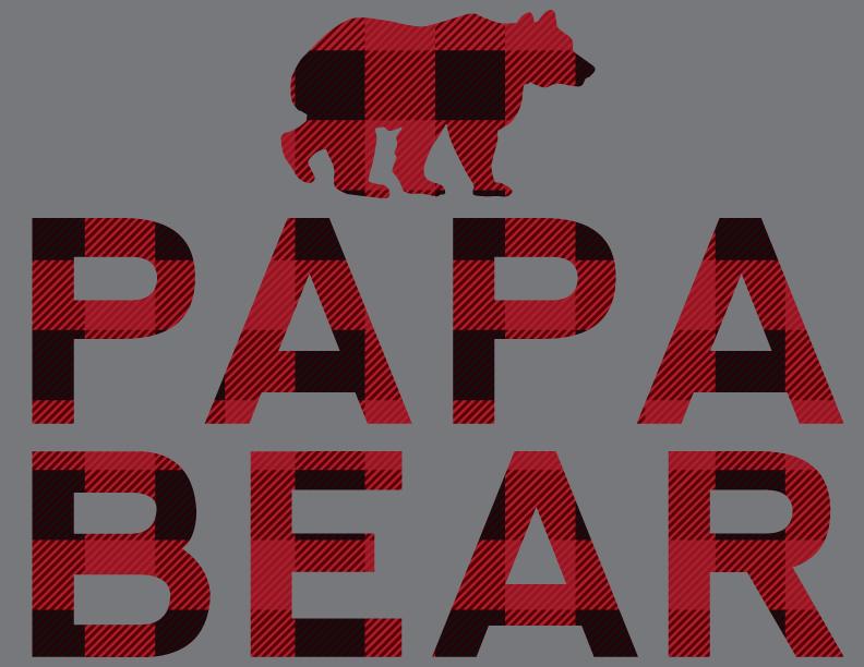 197d4053 Papa Bear Raglan  underthecarolinamoon.com