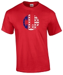 Patriotic Monogram T Shirt