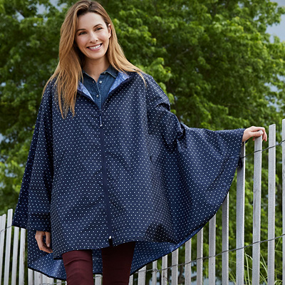 W/äfo Mujer Back Packing Poncho