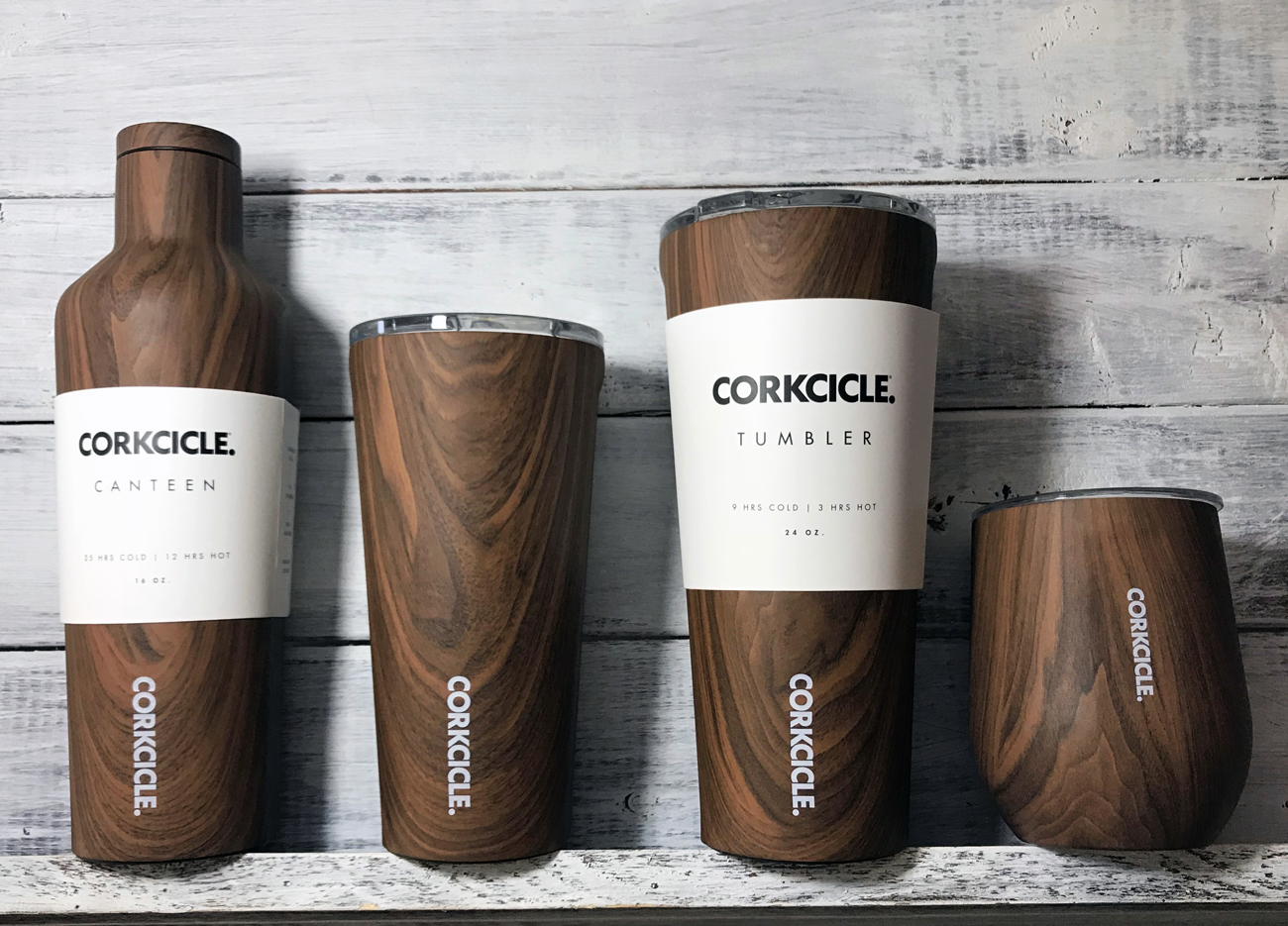 Wood Collection Corkcicle Tumblers (Prices Vary)