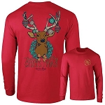 Ashton Brye™ Christmas Deer Long Sleeve