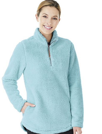 Aqua Newport Fleece Pullover