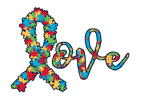 Love Autism Decal