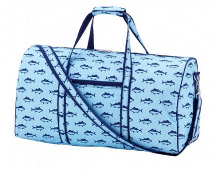 Beach Finn Duffle Bag | underthecarolinamoon.com