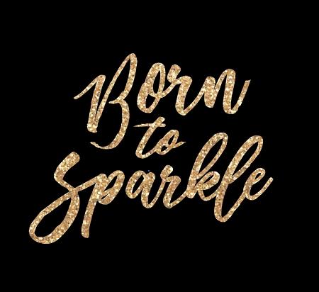 967ff3849ee9 Born To Sparkle Raglan