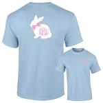 Bunny Bow Monogram Shirt