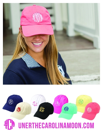 Monogram Ball Caps