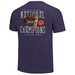 2018 Clemson National Championship Purple Tiger T-shirt
