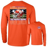 2018 Clemson National Championship Recap LONG SLEEVE