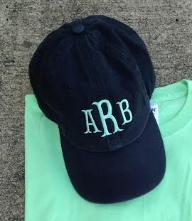 Cotillion Monogram Ball Cap