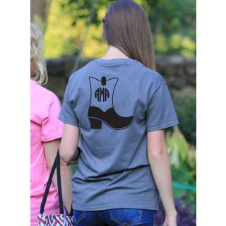 Preppy Cowboy Boot Monogram Shirt
