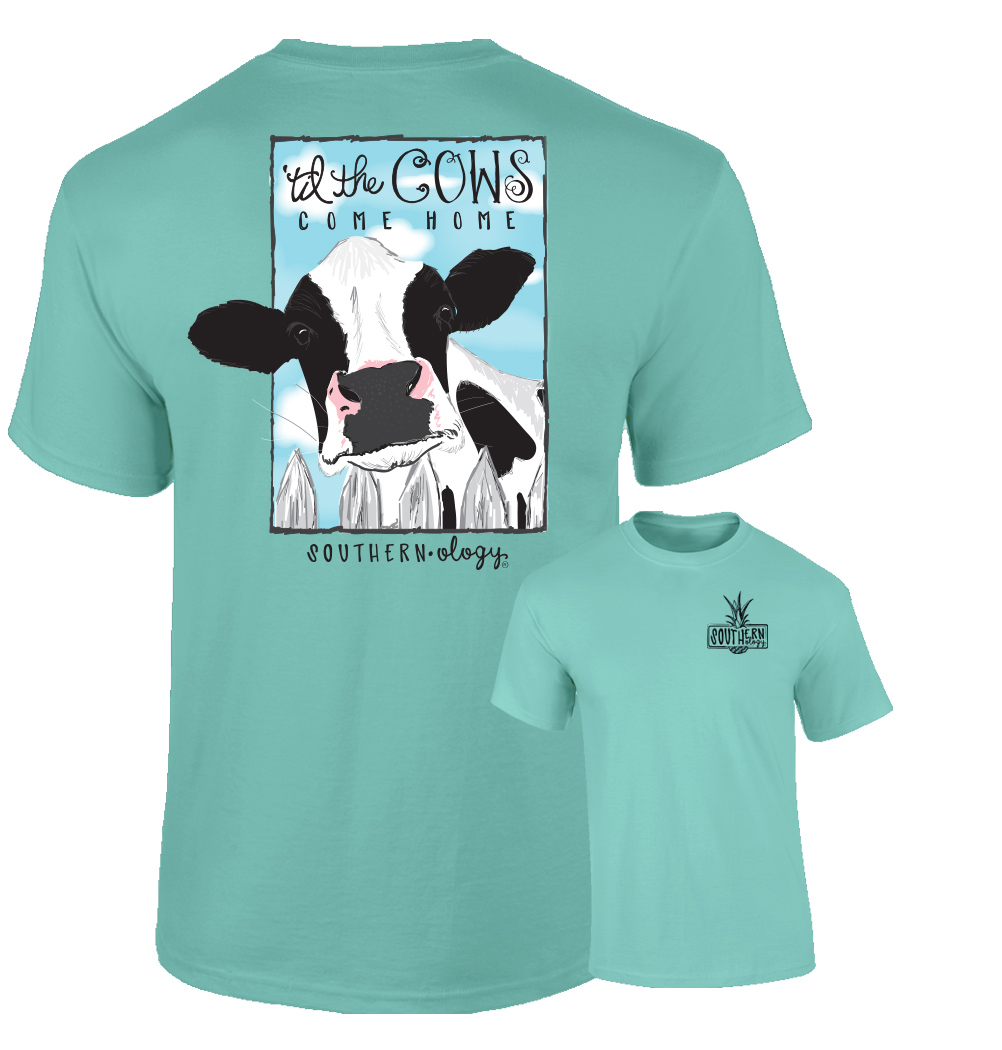 Southernology® Mint Til The Cow Comes Home T Shirt