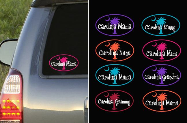 Carolina Grandparent Decal