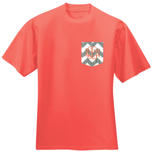 Chevron Pocket T-shirt