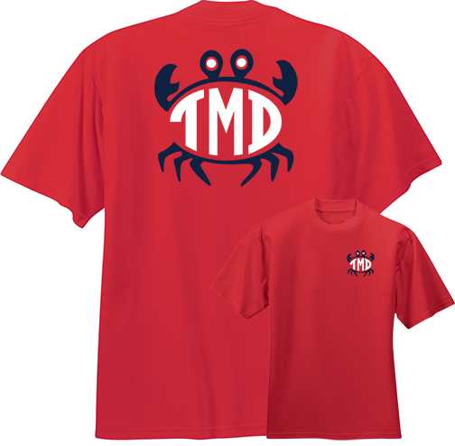 Preppy Crab Monogram Shirt
