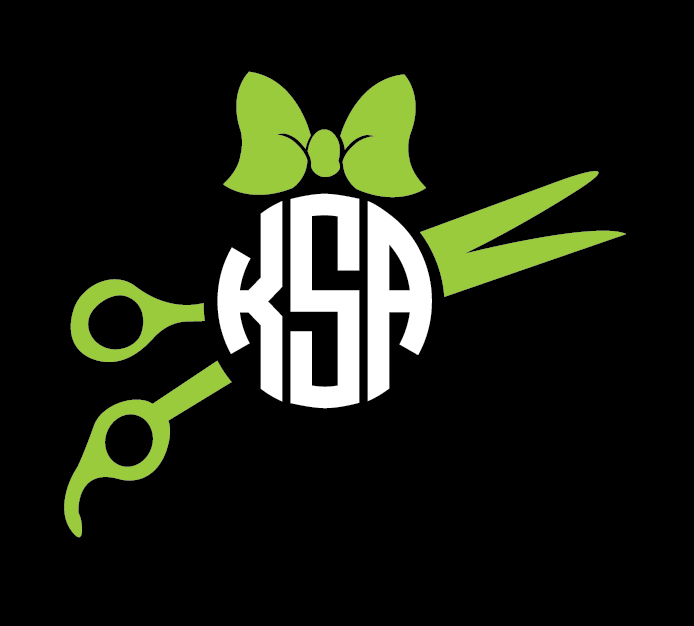 Hairdresser  Monogram Decal