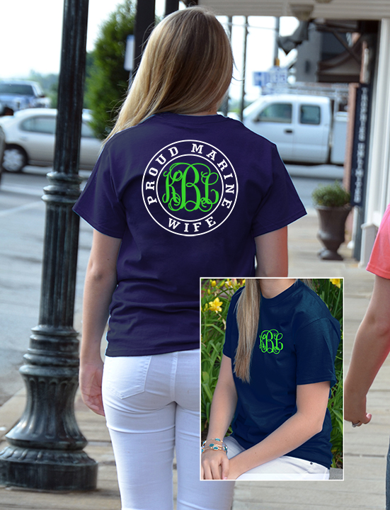 Military Family Monogram Shirt