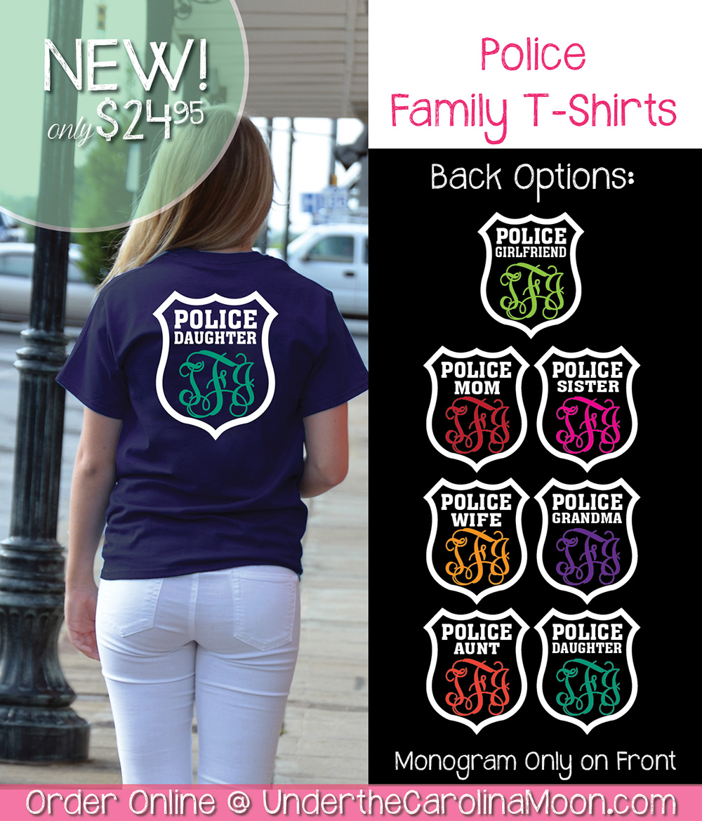 Police Family Monogram Shirt