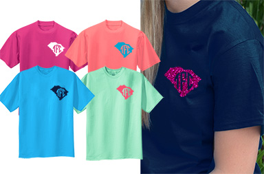 South Carolina Left Chest Monogram Shirt
