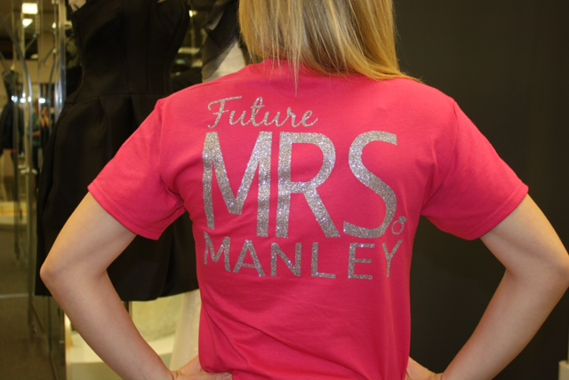 FUTURE Mrs. Monogram Shirt