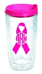 Cancer Awareness Monogram Tervis
