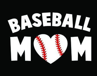Basball Mom Car Decal