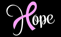 Hope Ribbon Car Decal