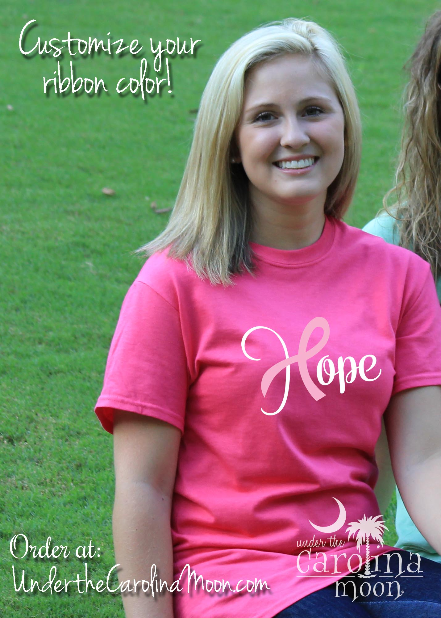 Custom Hope Ribbon