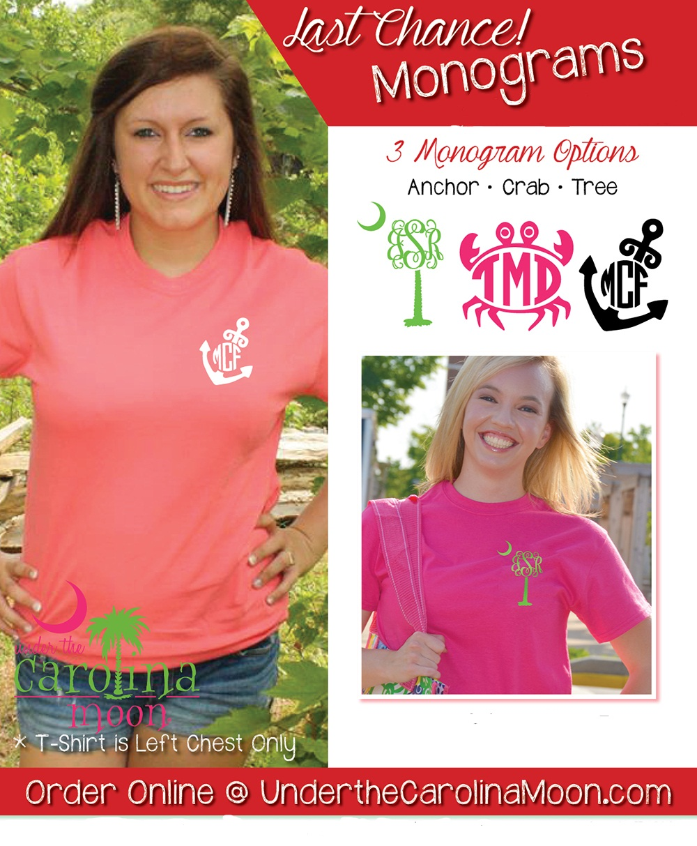 38366ee9336 Short Sleeve Left Chest Nautical Monogram T-shirt