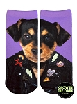 Living Royal Punk Dog Ankle Socks