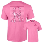 Floral Hope Breast Cancer Awareness Shirt