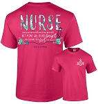 Southernology® Floral Nurse T Shirt