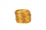 Budha Girl All Weather Gold Bangles