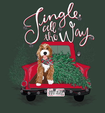 Southernology® Jingle All the Way T Shirt
