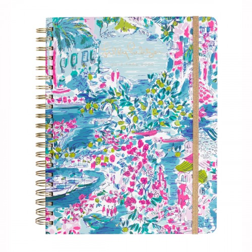 Jumbo 17-Month Spiral Lilly Pulitzer Agenda 2020