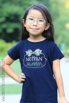 Navy Little Girl Nothin Sweeter Gingham Bow