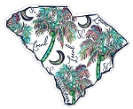 Southernology® South Carolina Local Decal