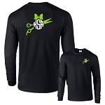 Hairdresser Monogram Long Sleeve Shirt