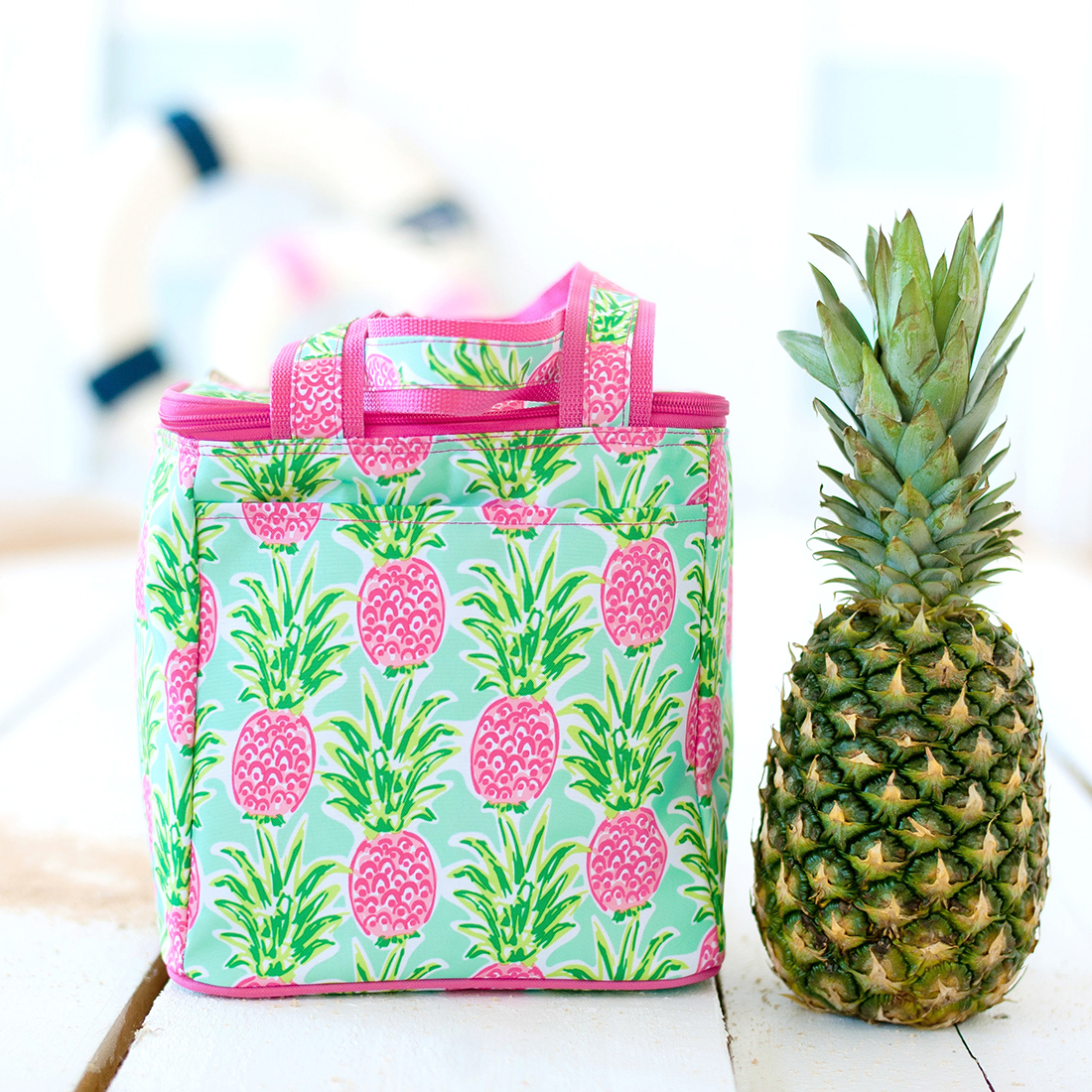 2020 Patterned Cooler Tote