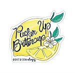 Southernology® Pucker Up Buttercup Decal