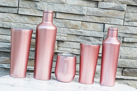 Rose Metallic Collection Corkcicle Tumblers (Prices Vary)