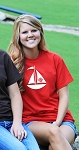 Center Sailboat Monogram T-shirt
