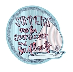 Ashton Brye™ Seersucker & Sailboats Decal