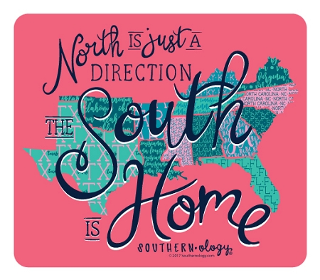 Southernology® South is Home Decal