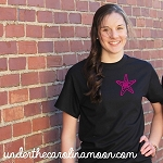 Starfish Left Chest Circle Monogram