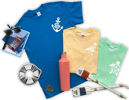 Left Chest Summer Monogram Shirt Bundle