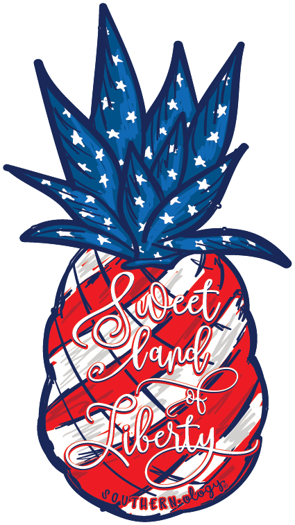 Southernology® Sweet Land of Liberty Decal