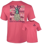 Southernology® Watermelon Pineapple Talk Southern T Shirt